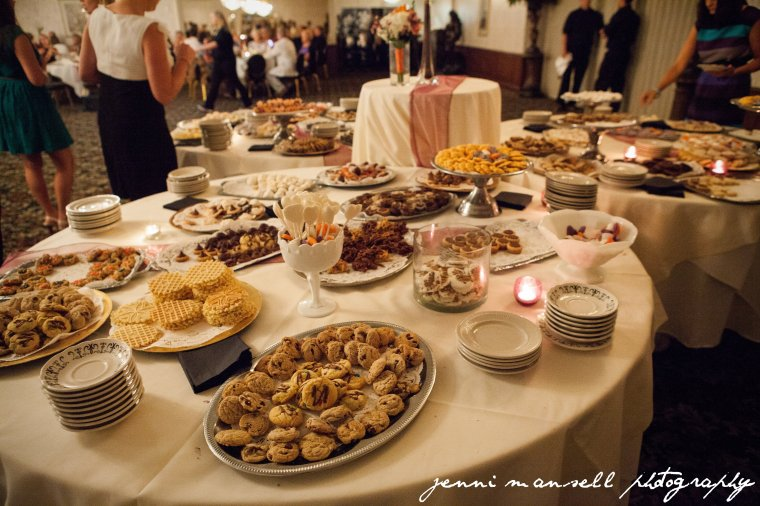 My favorite wedding tradition:  the Western Pennsylvania Cookie Table!