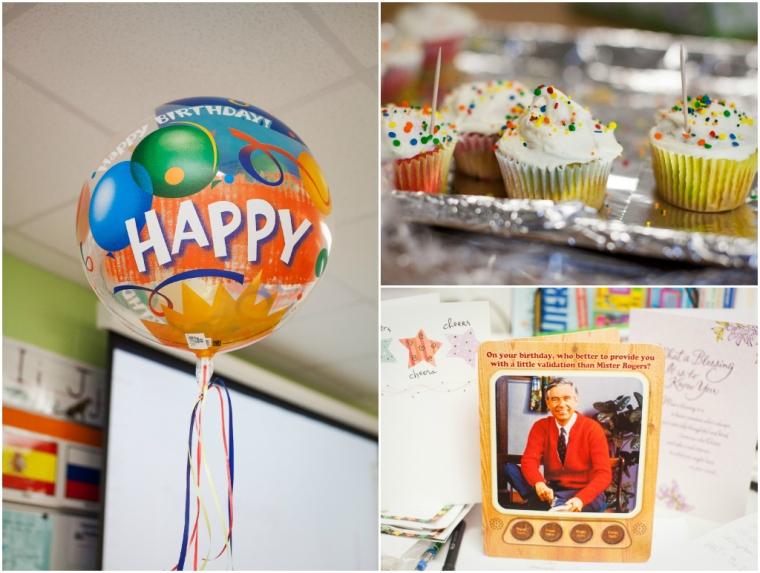 #17- Birthday love from work friends