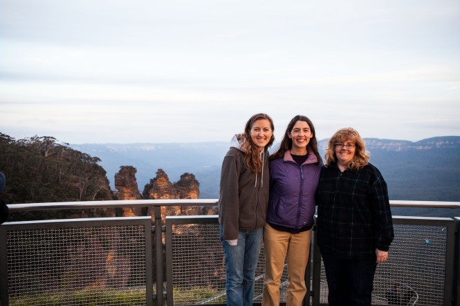 Three Sisters with the Three Sisters!  :)