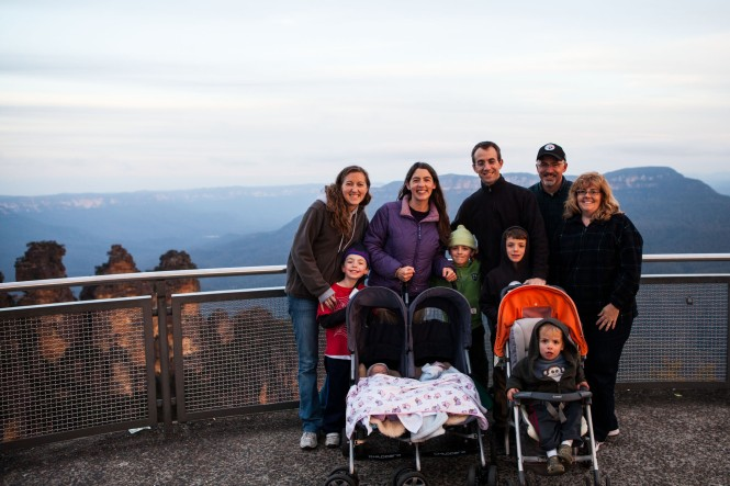 And finally, the whole crew at Echo Point
