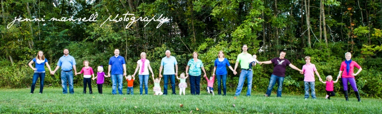 It was such fun taking family photos of the Hossletons in September!