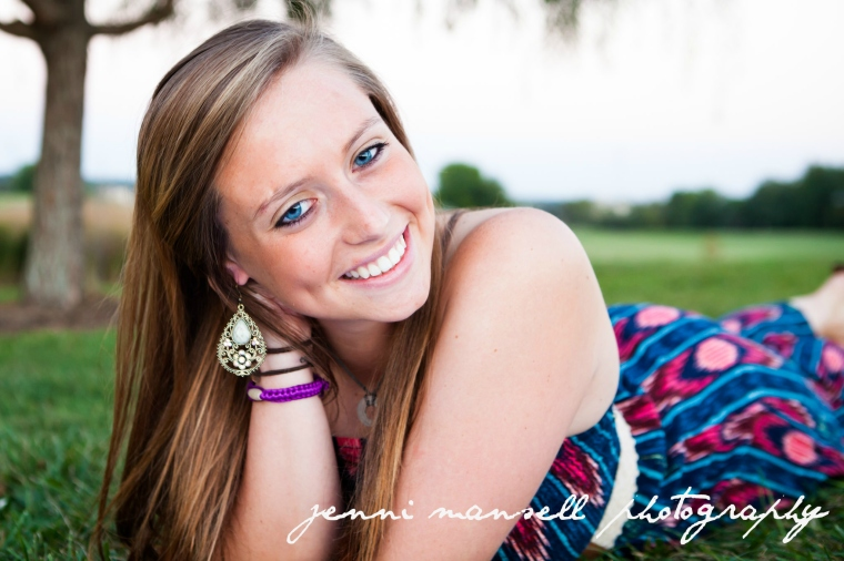 Lexie is a senior.  There are a lot more beautiful photos of her coming your way!