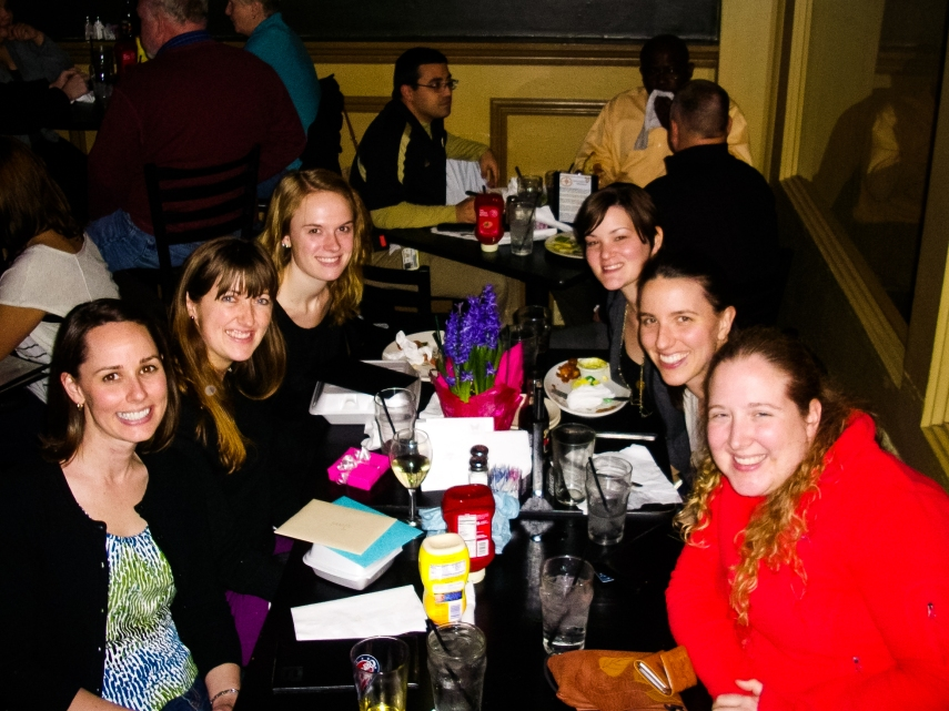 #17- Celebrating my birthday with some of my favorite friends in Indy at Chatham Tap