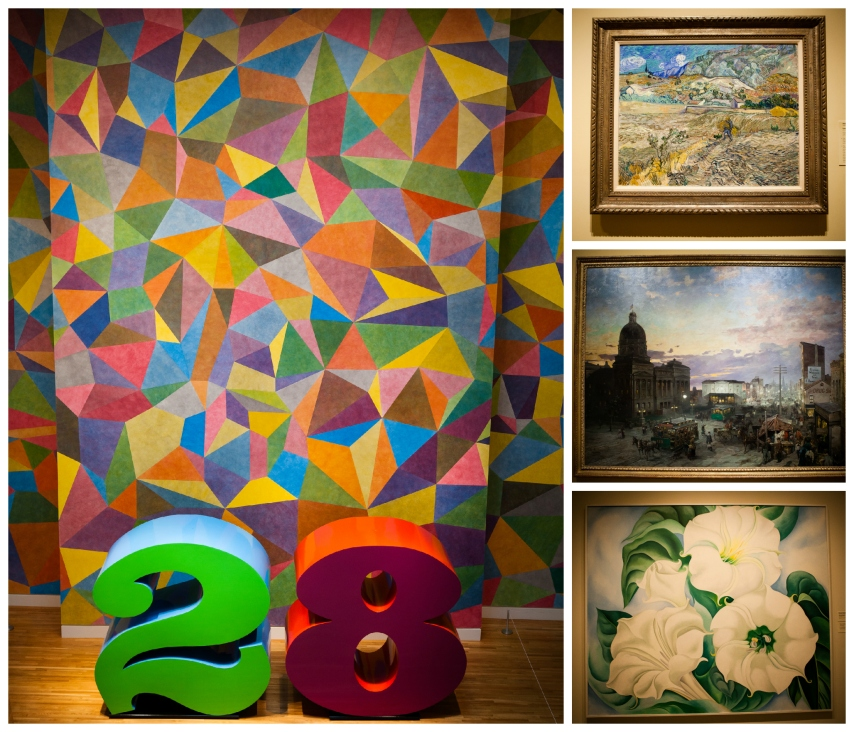 #21-  Having such great art to enjoy at the IMA just down the street.