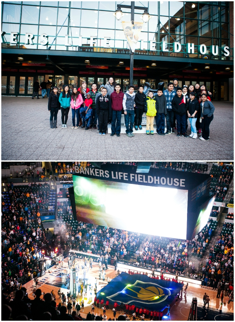 #31-  Taking 20 students to a Pacers game!
