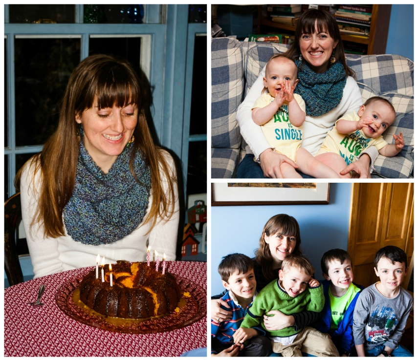 #33-  Extending the fun into March with a weekend at home with my parents, sisters, and their families.  I love being an aunt.