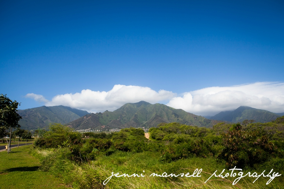 The West Maui Mountains