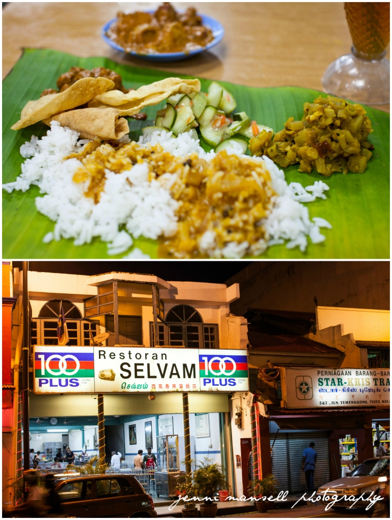 My dinner in Little India