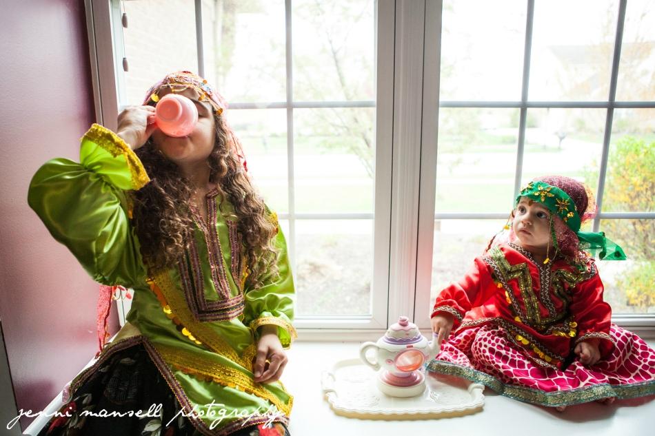 Persian tea party!