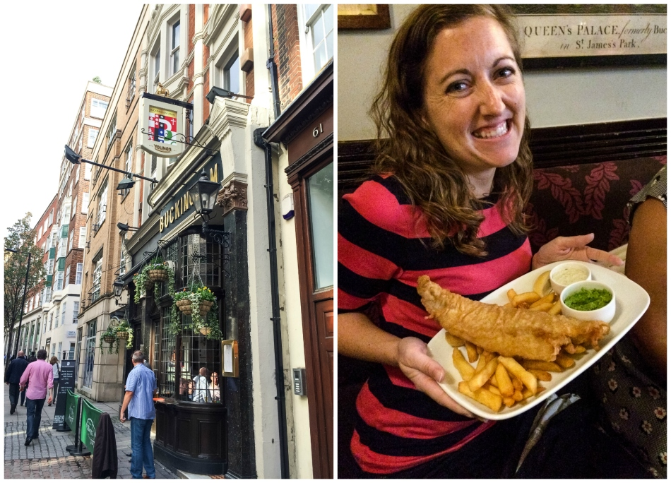 I made some new friends at BSF and went out to a pub for my first Fish & Chips of my trip!